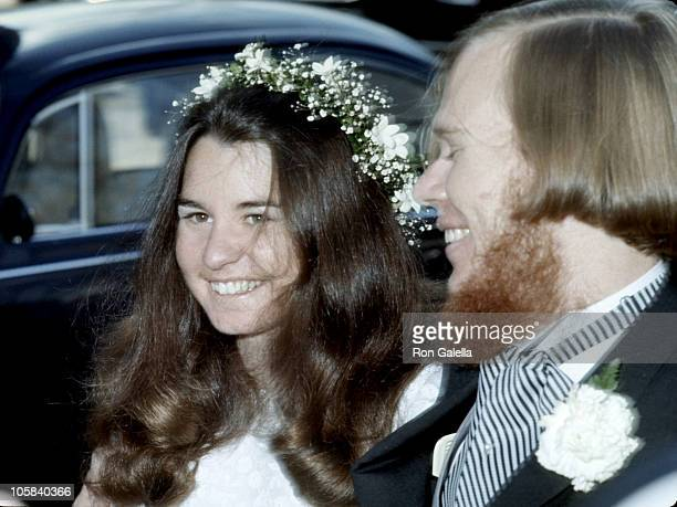 Kathleen Kennedy and David Townsend during Kathleen Kennedy's Wedding at Holy Trinity Church in Georgetown Washington DC United States
