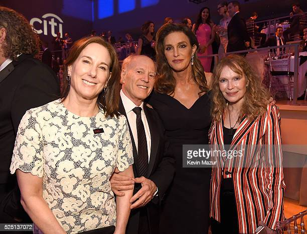 Kathleen Kennedy Frank Marshall Caitlyn Jenner and Mia Farrow attend the 2016 Time 100 Gala Time's Most Influential People In The World at Jazz At...