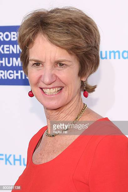 Kathleen Kennedy Townsend attends as Robert F Kennedy Human Rights hosts The 2015 Ripple Of Hope Awards honoring Congressman John Lewis Apple CEO Tim...