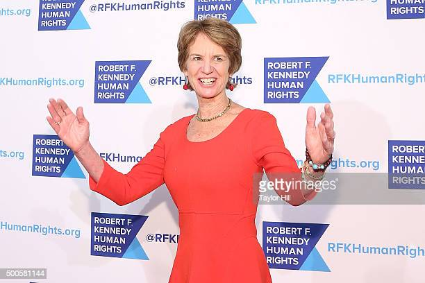 Kathleen Kennedy Townsend attends as Robert F. Kennedy Human Rights hosts The 2015 Ripple Of Hope Awards honoring Congressman John Lewis, Apple CEO...