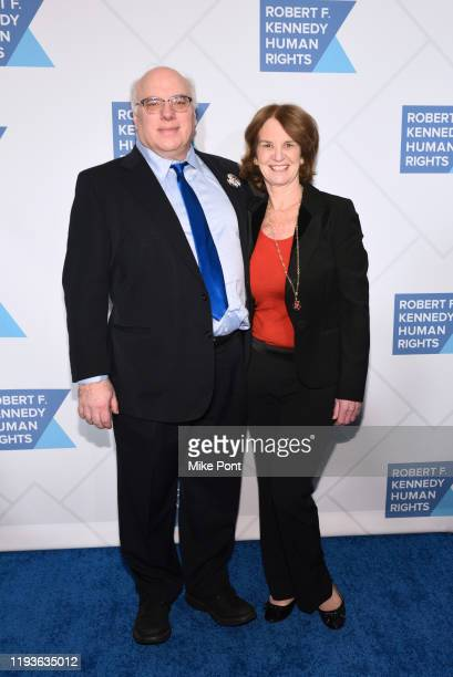 Kathleen Kennedy Townsend attends the Robert F. Kennedy Human Rights Hosts 2019 Ripple Of Hope Gala & Auction In NYC on December 12, 2019 in New York...