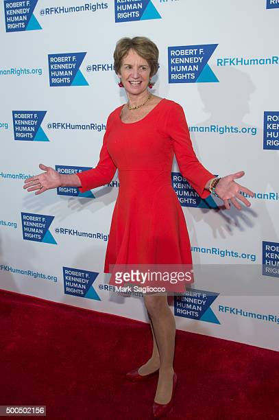 Kathleen Kennedy Townsend attends the Robert F. Kennedy Human Rights 2015 Ripple Of Hope Awards at New York Hilton Midtown on December 8, 2015 in New...