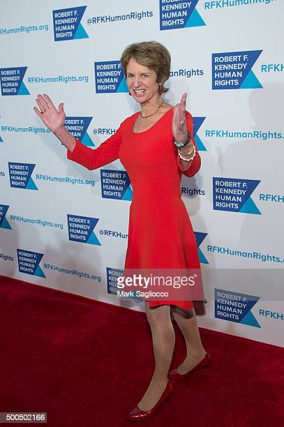 Kathleen Kennedy Townsend attends the Robert F Kennedy Human Rights 2015 Ripple Of Hope Awards at New York Hilton Midtown on December 8 2015 in New...