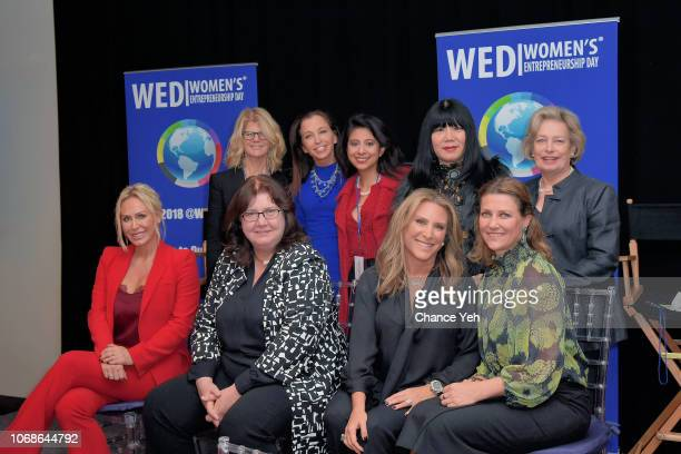 Kathleen King Wendy Diamond Mary Ann ThompsonFrenk Anna Sui and Shari Staglin Shannon Dellimore Eileen Murray Shelley Zalis and Martha Louise attend...