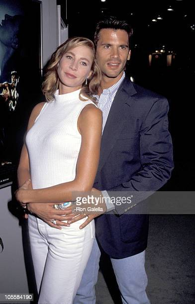 Kathleen Kinmont and Lorenzo Lamas during 10th Annual Video Software Dealers Association Convention at Sands Hotel in New York City New York United...