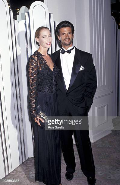 Kathleen Kinmont and Lorenzo Lamas during 21st Annual Nosotros Golden Eagle Awards at Beverly Hilton Hotel in Beverly Hills California United States