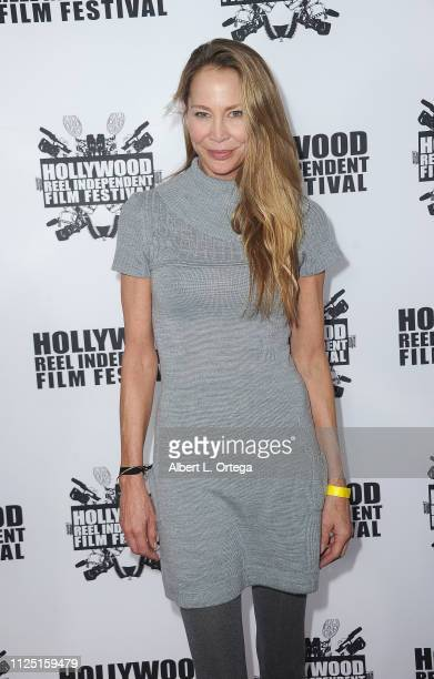 Kathleen Kinmont arrives for The 2019 Hollywood Reel Independent Film Festival held at Regal LA Live Stadium 14 on February 15 2019 in Los Angeles...