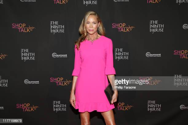 Kathleen Kinmont attends a private red carpet screening of A Merry Christmas Match By The Ninth House at Gary Marshall Theatre on September 25 2019...