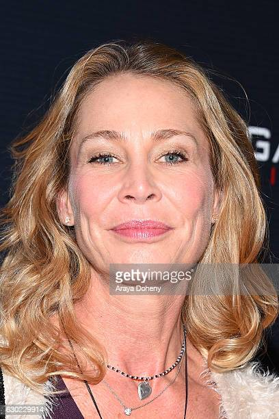 Kathleen Kinmont attends the Unorganized Crime screening at Charlie Chaplin Theatre on December 18 2016 in Los Angeles California