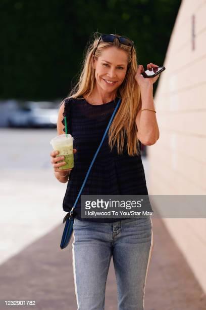 Kathleen Kinmont is seen on May 14, 2021 in Los Angeles, California.