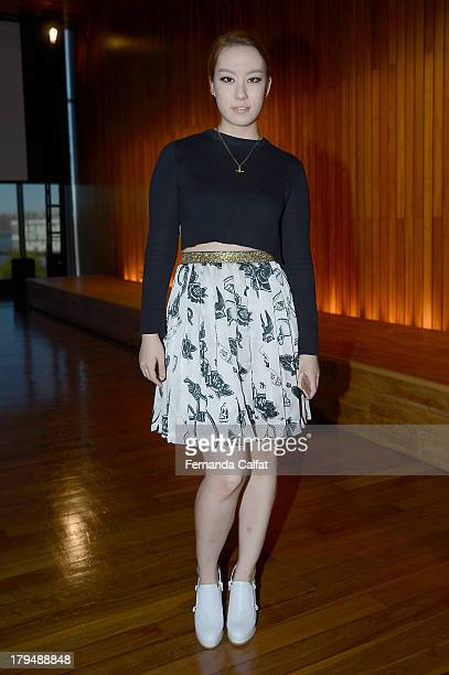 Kathleen Kye attends the Kye presentation during MercedesBenz Fashion Week Spring 2014 at The Standard Hotel High Line Room on September 4 2013 in...