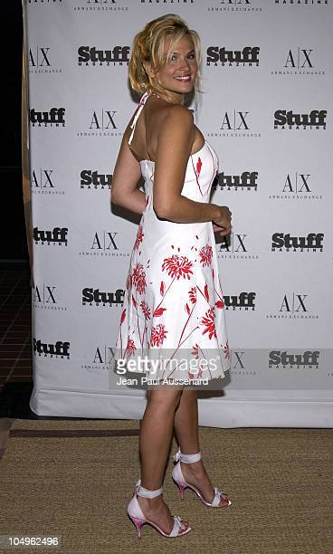 Kathleen McClellan during Stuff Magazine Armani Exchange Beachdance Party Arrivals at Astra West in West Hollywood California United States