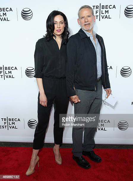 Kathleen McElfresh and Campbell Scott attend 2015 Tribeca Film Festival Opening Night Gala After Party Sponsored By ATT on April 15 2015 in New York...