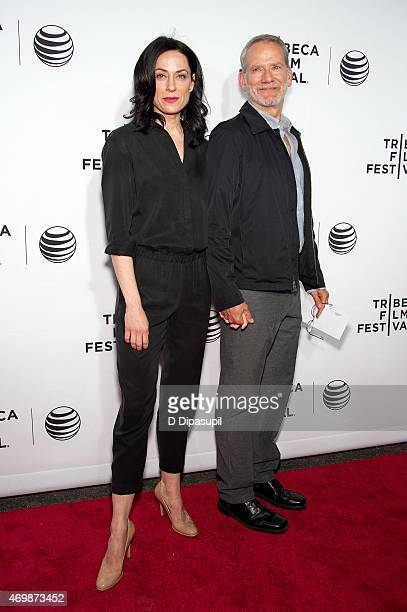 Kathleen McElfresh and Campbell Scott attend the world premiere of Live From New York during the 2015 Tribeca Film Festival at The Beacon Theatre on...
