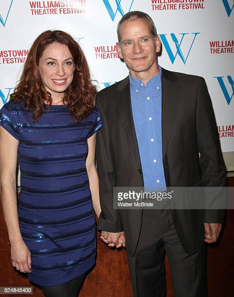 Kathleen McElfresh Campbell Scott attending the Williamstown Theatre Festival's 2010 New York City Benefit held at the Prince George Ballroom on East...