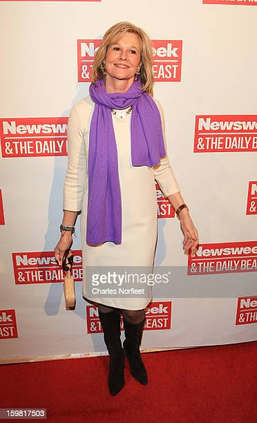 Kathleen Parker attends The Daily Beast BiPartisan Inauguration Brunch at Cafe Milano on January 20 2013 in Washington DC