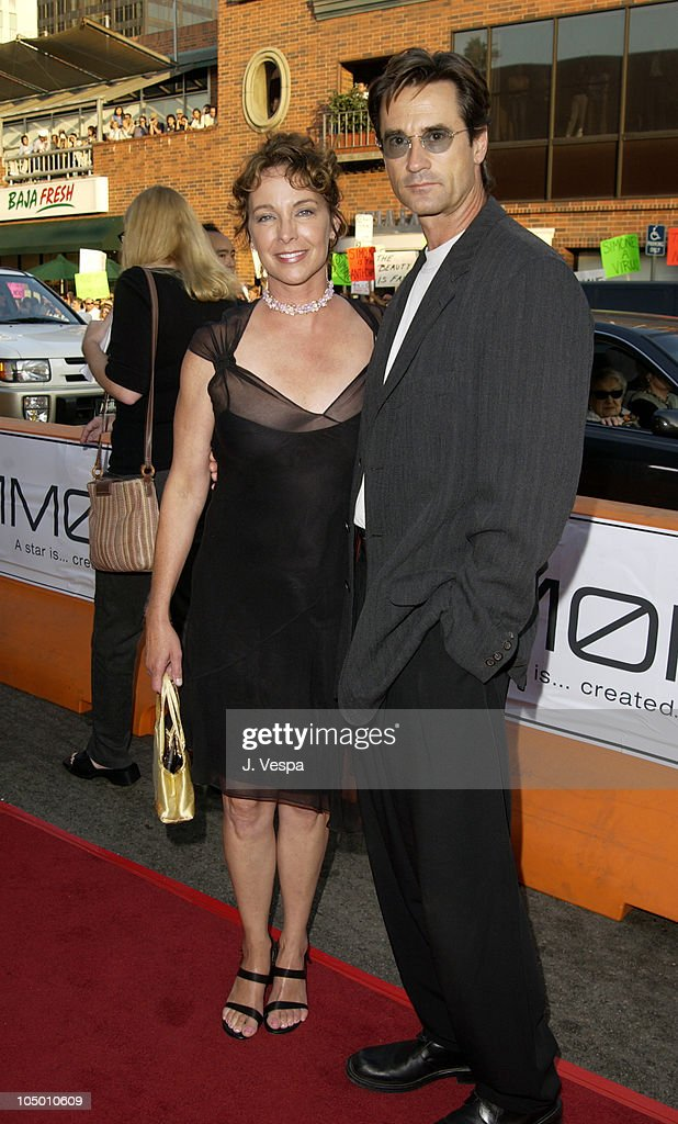 Kathleen Quinlan and Bruce Abbott during 'Simone' - Los Angeles Premiere at National Theatre in Westwood, California, United States.