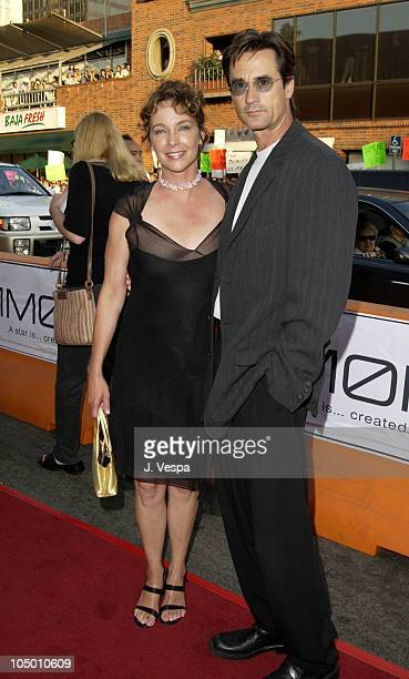 Kathleen Quinlan and Bruce Abbott during Simone Los Angeles Premiere at National Theatre in Westwood California United States