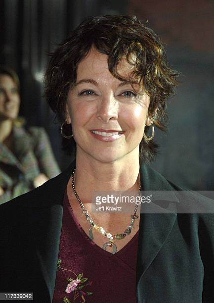 Kathleen Quinlan during Apollo 13 Anniversary Edition DVD Launch Press Line at California Science Center in Los Angeles California United States