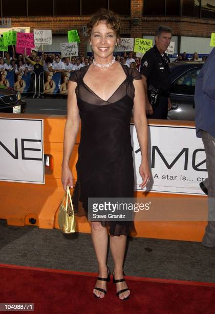 Kathleen Quinlan during Simone Los Angeles Premiere at National Theatre in Westwood California United States