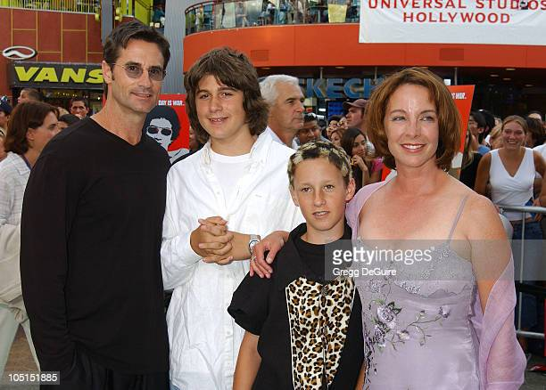 Kathleen Quinlan Family during The Battle Of Shaker Heights Premiere at Universal Citywalk in Universal City California United States