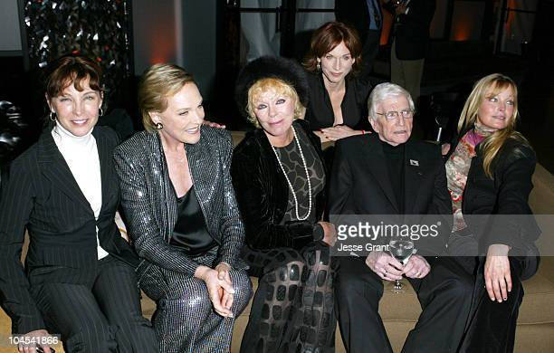 Kathleen Quinlan Julie Andrews Elke Sommer Marilu Henner Blake Edwards and Bo Derek