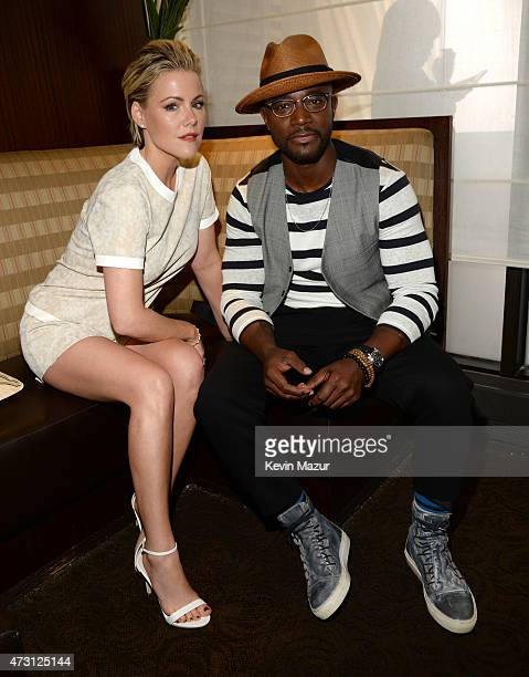 Kathleen Robertson and Taye Diggs attend the Turner Upfront 2015 at Madison Square Garden on May 13 2015 in New York City 25201_002_KM_0100JPG