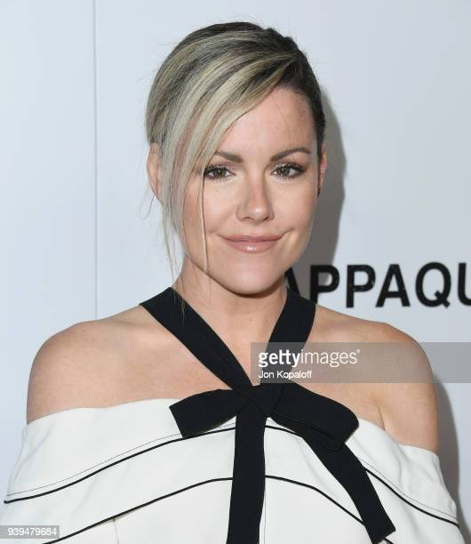Kathleen Robertson attends Premiere Of Entertainment Studios Motion Picture's 'Chappaquiddick' at Samuel Goldwyn Theater on March 28 2018 in Beverly...