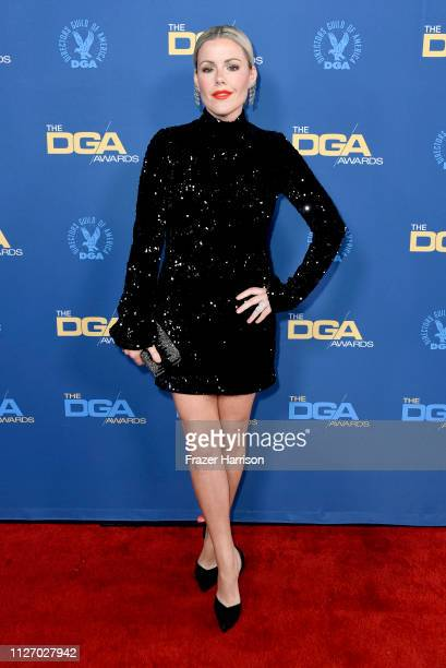 Kathleen Robertson attends the 71st Annual Directors Guild Of America Awards at The Ray Dolby Ballroom at Hollywood Highland Center on February 02...