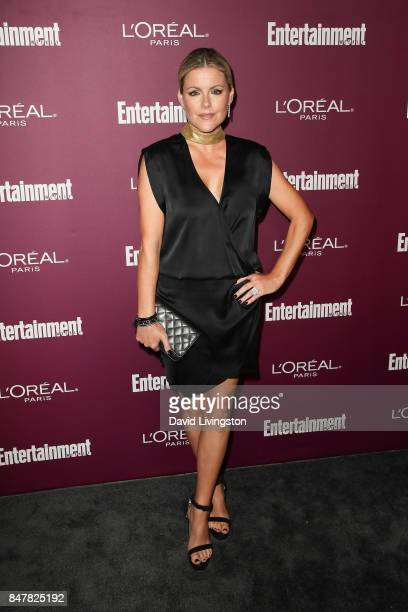 Kathleen Robertson attends the Entertainment Weekly's 2017 PreEmmy Party at the Sunset Tower Hotel on September 15 2017 in West Hollywood California