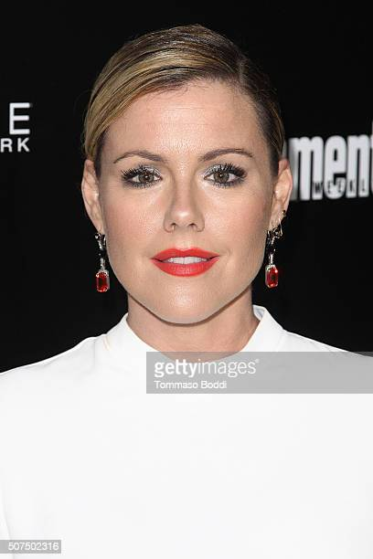 Kathleen Robertson attends the Entertainment Weekly's Celebration Honoring The 2016 SAG Awards Nominees held at Chateau Marmont on January 29 2016 in...