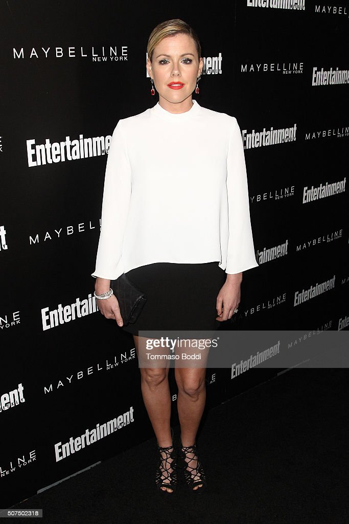 Kathleen Robertson attends the Entertainment Weekly's Celebration Honoring The 2016 SAG Awards Nominees held at Chateau Marmont on January 29, 2016 in Los Angeles, California.