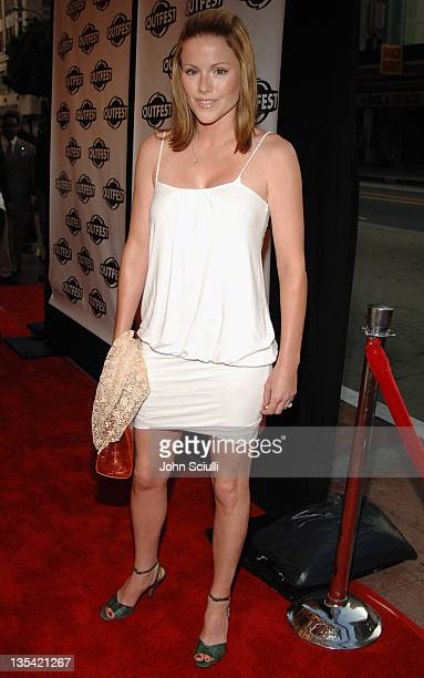 Kathleen Robertson during Outfest 2005 Opening Night Gala at Orpheum Theatre in Los Angeles California United States