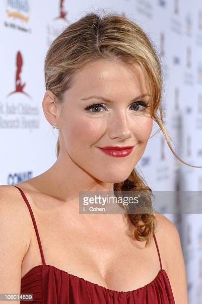 Kathleen Robertson during Runway For Life Benefiting St Jude Children's Research Hospital Sponsored by Disney's The Little Mermaid DVD and The Conair...
