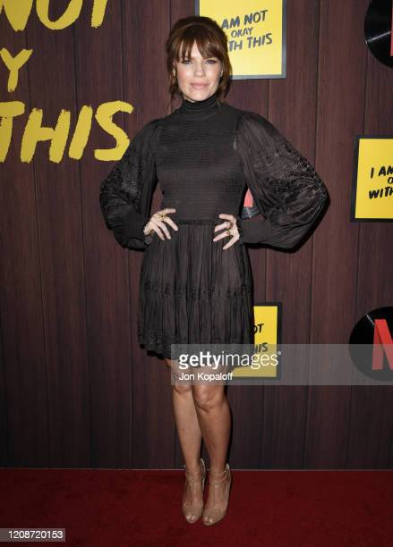 Kathleen Rose Perkins attends Netflix's I Am Not Okay With This Photocall at The London West Hollywood on February 25 2020 in West Hollywood...