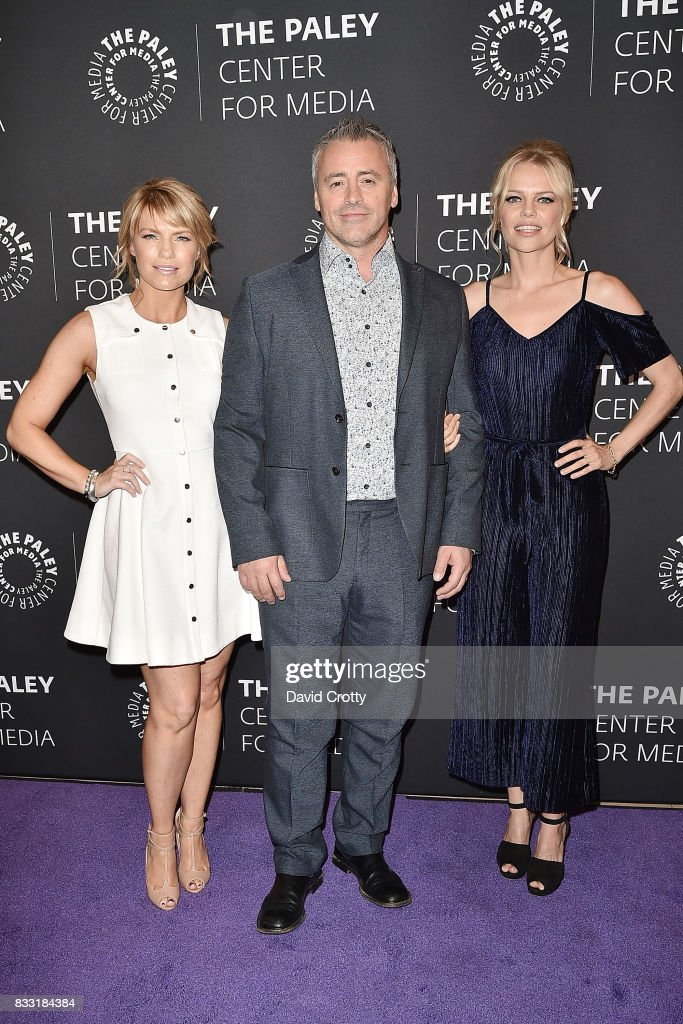 Kathleen Rose Perkins, Matt LeBlanc and Mircea Monroe attend the 2017 PaleyLive LA Summer Season - Premiere Screening And Conversation For Showtime's 'Episodes' at The Paley Center for Media on August 16, 2017 in Beverly Hills, California.