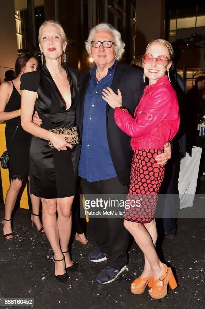 Kathleen Ryan Dominick D'Alleva and Robin Cofer attend the Unveiling of White Square by Richard Meier Partners at Citigroup Center on December 7 2017...