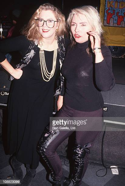 Kathleen Turner and Debbie Harry during Jam Session in New York City December 18 1991 at China Club in New York City New York United States