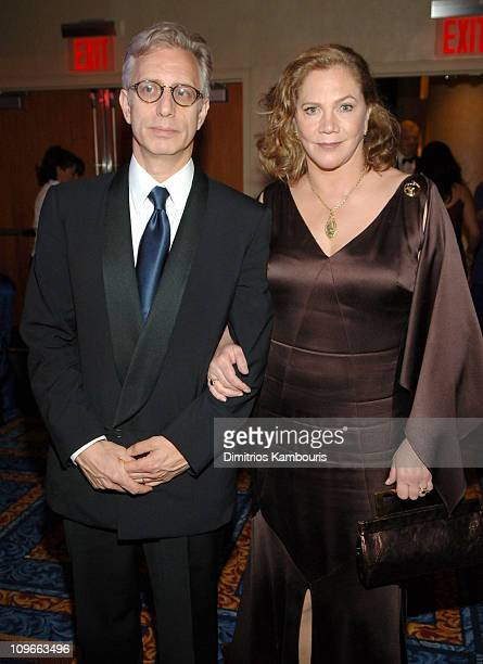 Kathleen Turner and guest during 59th Annual Tony Awards - After Party at Marriott Marquis in New York City, New York, United States.