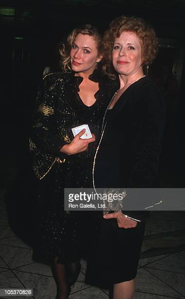 Kathleen Turner and Holland Taylor during Tom Hanks and Rita Wilson Wedding Reception at Rex's in Los Angeles California United States