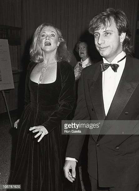 Kathleen Turner and Jay Weiss during The Martha Graham Dance Company Opening Night Performance at New York Hilton Hotel in New York City New York...
