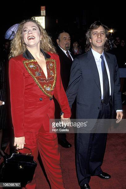 Kathleen Turner and Jay Weiss during War of the Roses New York City Premiere at Gotham Theater in New York City New York United States