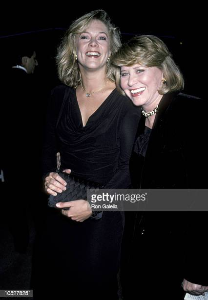 Kathleen Turner and Liz Smith during Roast of Liz Smith To Benefit The Women's Action Alliance at Studio 54 in New York City New York United States