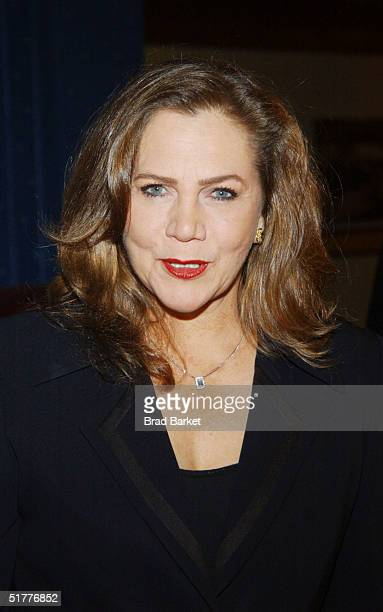 Kathleen Turner arrives at the Children At Heart Gala To Benefit Children Of Chernobyl on November 22 2004 at Pier 60 at the Chelsea Piers in New York