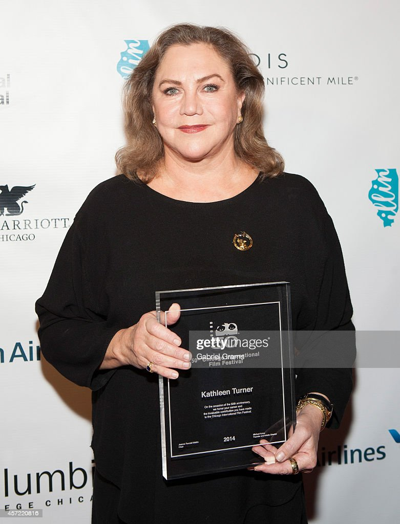 "50th Anniversary Of The Chicago International Film Festival - Kathleen Turner: ""An Evening With Kathleen Turner"""