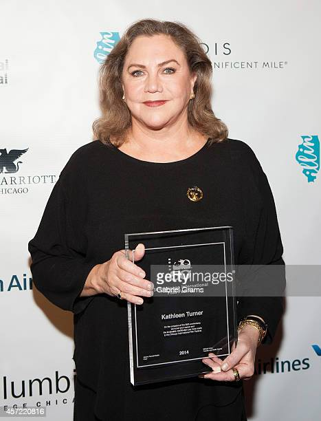 Kathleen Turner attends An Evening With Kathleen Turner at 50th Chicago International Film Festival at AMC River East Theater on October 14 2014 in...