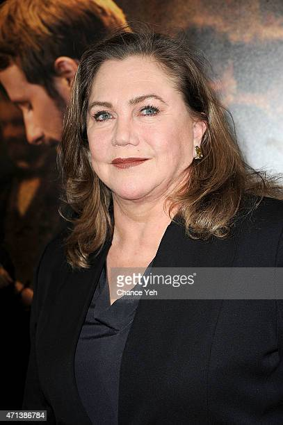 Kathleen Turner attends Far From The Madding Crowd New York special screening at The Paris Theatre on April 27 2015 in New York City