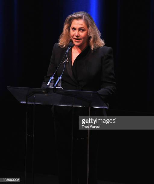Kathleen Turner attends the 63rd annual Writers Guild Awards at the AXA Equitable Center on February 5 2011 in New York City