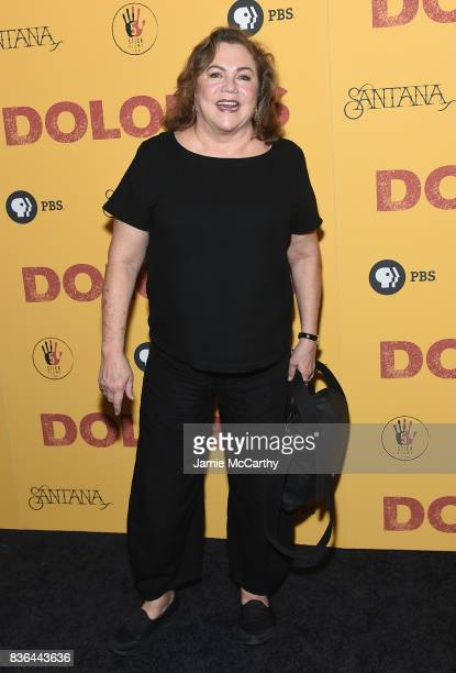 Kathleen Turner attends the 'Dolores' New York Premiere at The Metrograph on August 21 2017 in New York City