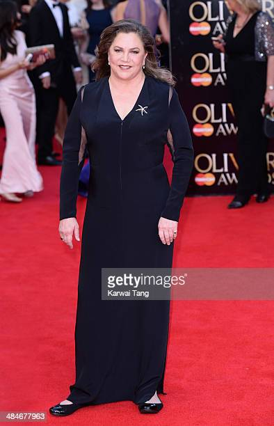 Kathleen Turner attends the Laurence Olivier Awards held at The Royal Opera House on April 13, 2014 in London, England.